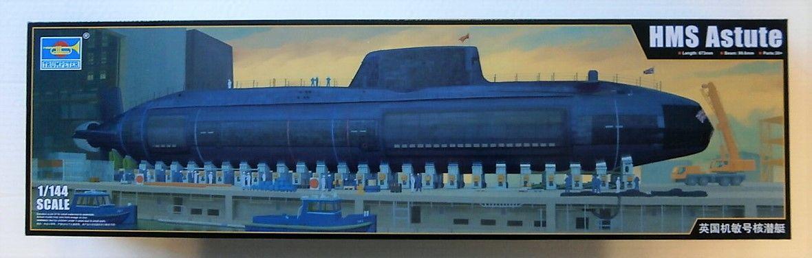 TRUMPETER 1/144 05909 HMS ASTUTE