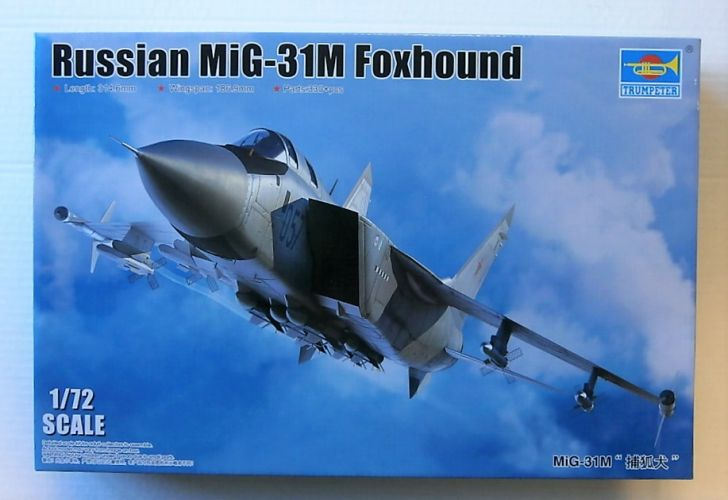 TRUMPETER 1/72 01681 RUSSIAN MIG-31M FOXHOUND