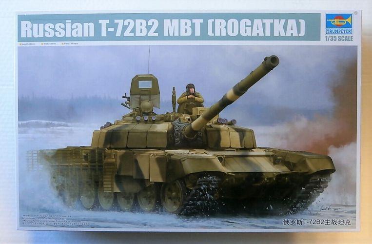 TRUMPETER 1/35 09507 RUSSIAN T-72BT MBT  ROGATKA