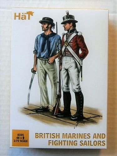 HAT INDUSTRIES 1/72 8325 BRITISH MARINES AND FIGHTING SAILORS