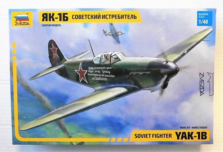 ZVEZDA 1/48 4817 YAK-1B SOVIET FIGHTER