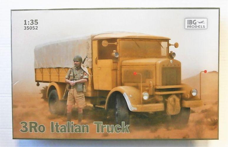 IBG MODELS 1/35 35052 3RO ITALIAN TRUCK