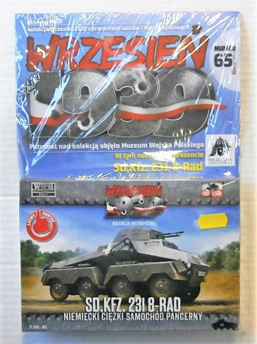 FIRST TO FIGHT 1/72 065 GERMAN Sd.Kfz.231 8-RAD