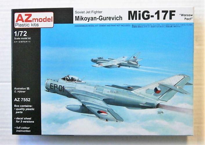 AZ MODEL 1/72 7552 MIG-17F - WARSAW PACT