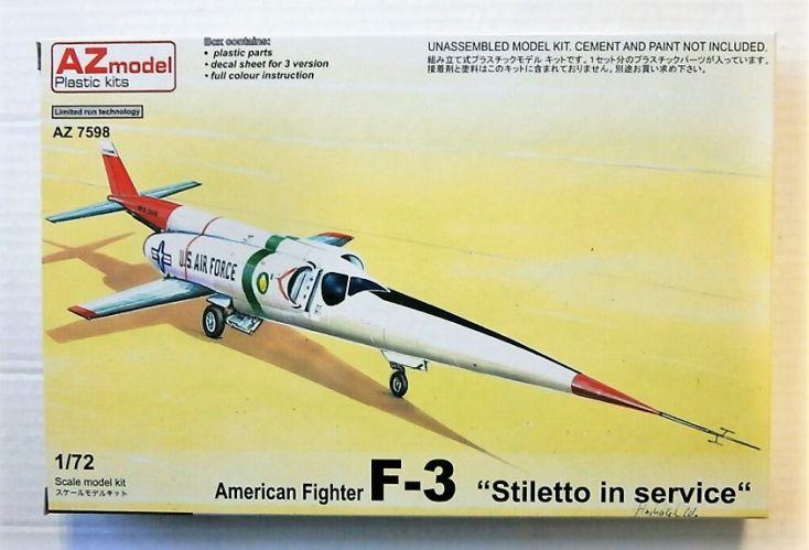 AZ MODEL 1/72 7598 DOUGLAS F-3 STILETTO IN SERVICE