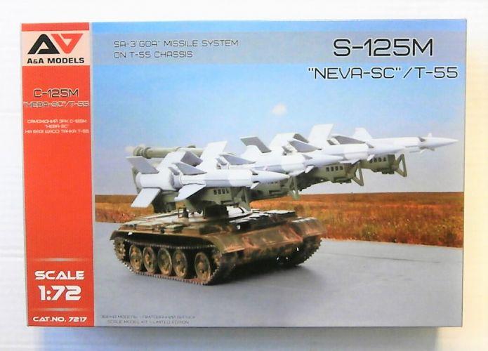 A   A MODELS 1/72 7217 SA-3 GOA ON T55 CHASSIS  C-125M HEBA-SC/T-55