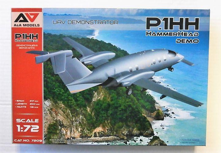 A   A MODELS 1/72 7209 P.1HH HAMMERHEAD UAV DEMONSTRATOR