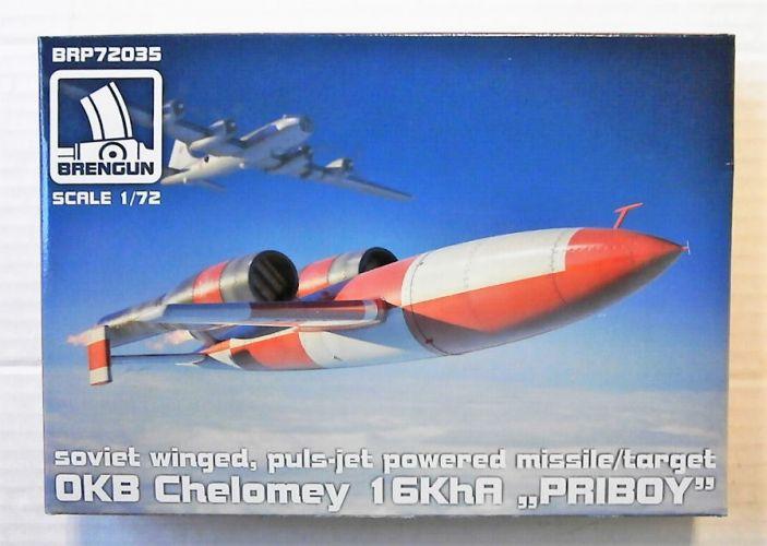 BRENGUN 1/72 72035 OKB CHELOMEY 16KHA PRIBOY
