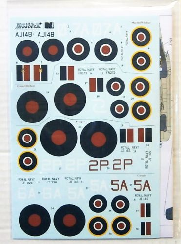 XTRADECAL 1/48 48102 YANKS WITH ROUNDELS U.S. AIRCRAFT IN THE FAA PART 1
