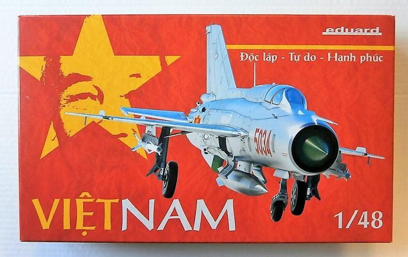 EDUARD 1/48 11115 MiG-21PFM IN NORTH VIETNAMESE SERVICE
