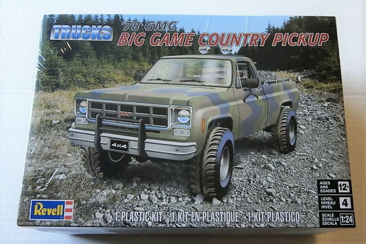 REVELL 1/24 7226 78 GMC BIG GAME COUNTRY PICKUP