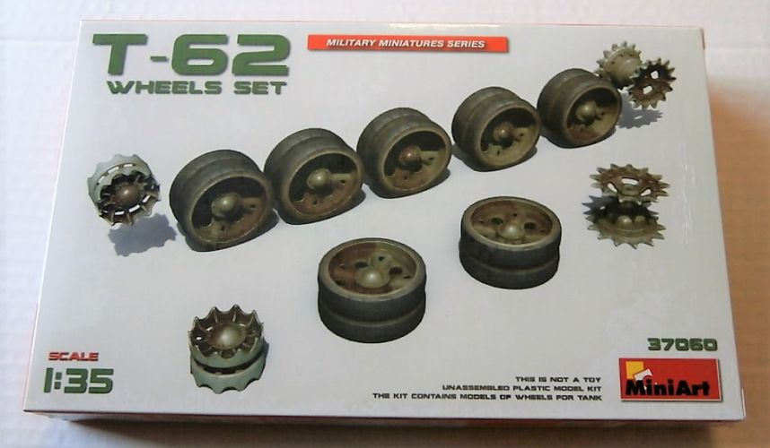 MINIART 1/35 37060 T-62 WHEELS SET
