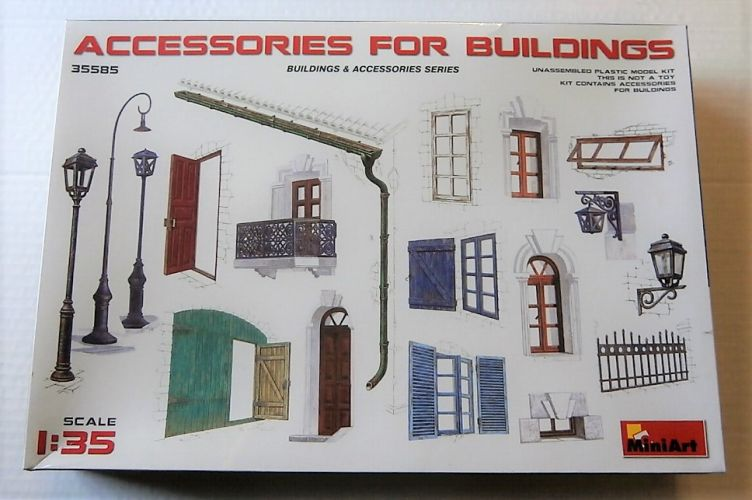 MINIART 1/35 35585 ACCESSORIES FOR BUILDINGS
