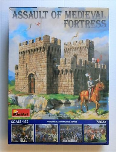 MINIART 1/72 72033 ASSAULT OF MEDIEVAL FORTRESS