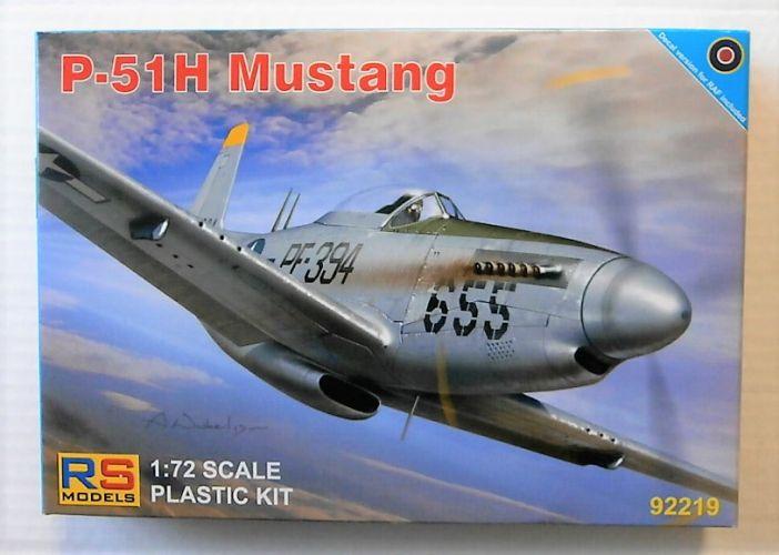 RS MODELS 1/72 92219 P-51H MUSTANG