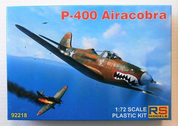 RS MODELS 1/72 92218 P-400 AIRACOBRA