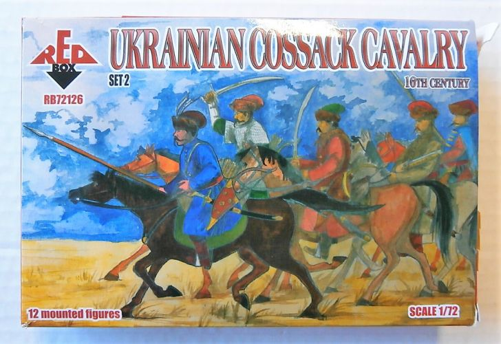 RED BOX 1/72 72126 UKRAINIAN COSSACK CAVALRY 16TH CENTURY