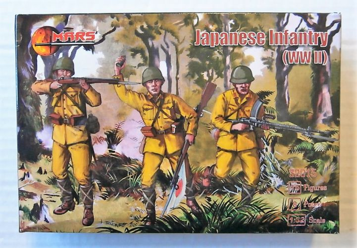 MARS 1/32 32015 JAPANESE INFANTRY WWII