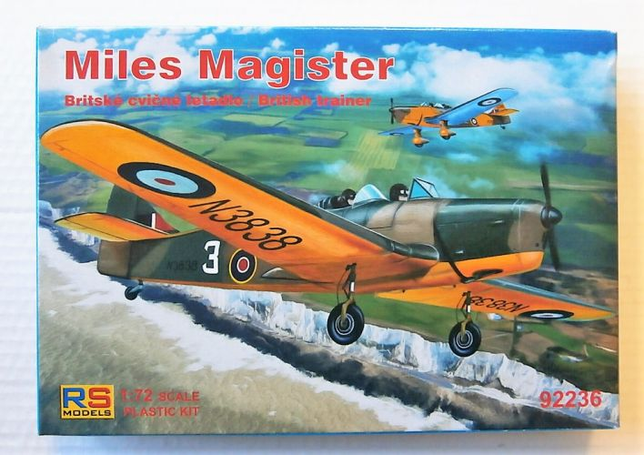 RS MODELS 1/72 92236 MILES MAGISTER