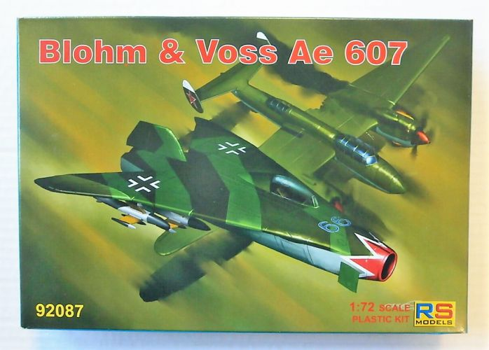 RS MODELS 1/72 92087 BLOHM   VOSS AE 607