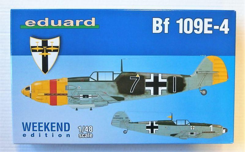 EDUARD 1/48 84153 BF 109E-4 WEEKEND EDITION