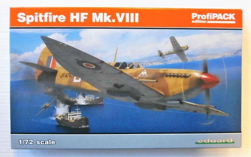 EDUARD 1/72 70129 SPITFIRE HF MK.VIII PROFIPACK