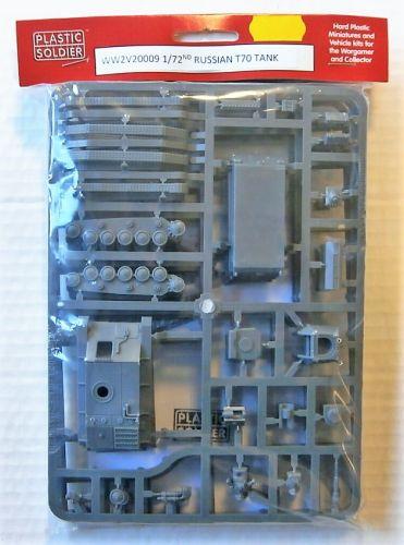 PLASTIC SOLDIER 1/72 WW2V20009 RUSSIAN T70 TANK