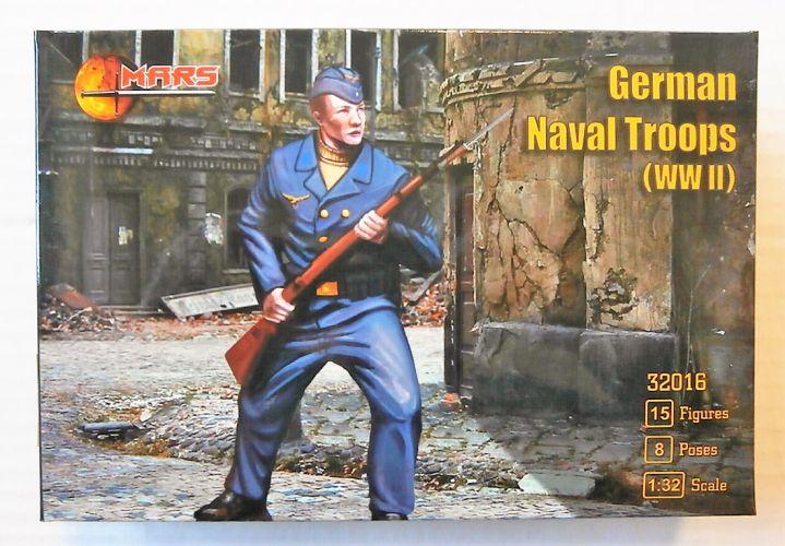 MARS 1/32 32016 WWII GERMAN NAVAL TROOPS