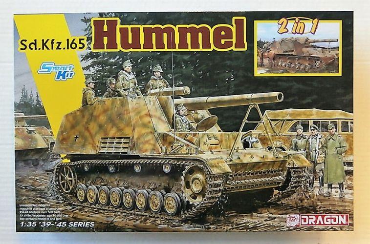 DRAGON 1/35 6935 Sd.Kfz.165 HUMMEL  2 IN 1