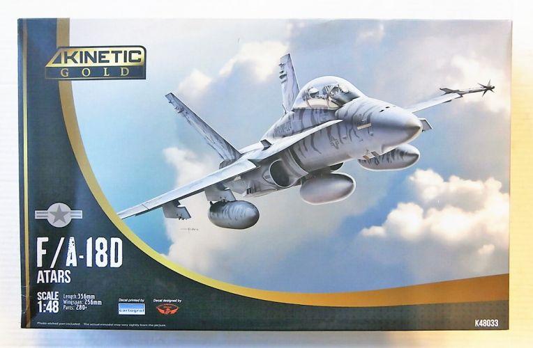 KINETIC 1/48 48033 MCDONNELL-DOUGLAS F/A-18D ATARS