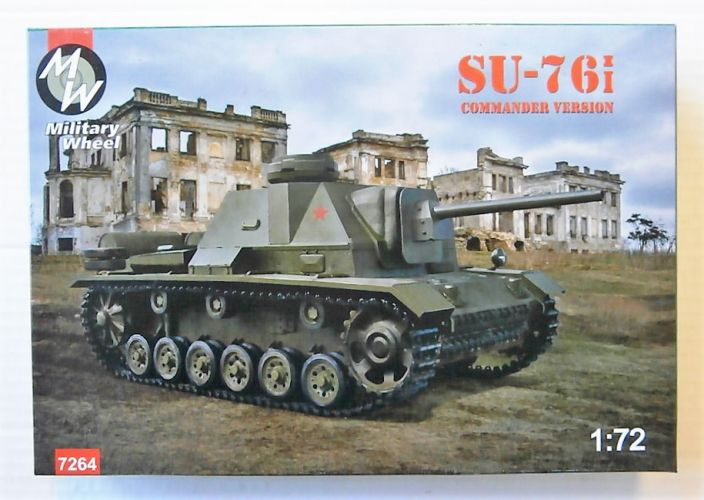 MILITARY WHEELS 1/72 7264 SU-76i COMMANDER VERSION