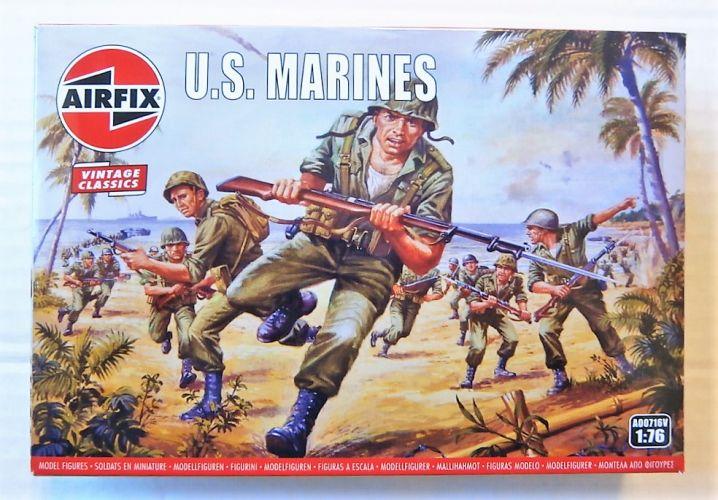 AIRFIX 1/76 A00716V VINTAGE CLASSICS - WWII U.S. MARINES
