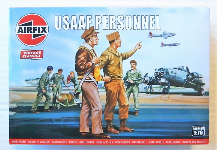 AIRFIX 1/76 A00748V VINTAGE CLASSICS - USAAF PERSONNEL