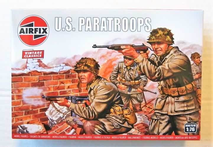 AIRFIX 1/76 A00751V AIRFIX CLASSICS - WWII U.S. PARATROOPS
