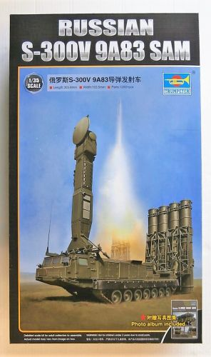 TRUMPETER 1/35 09519 RUSSIAN S-300V 9A83 SAM  UK SALE ONLY