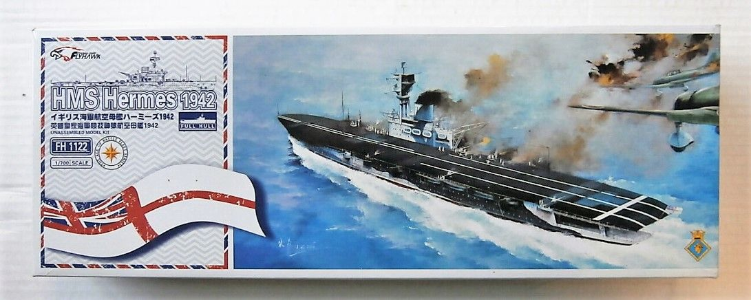 FLY HAWK 1/700 FH1122 HMS HERMES 1942