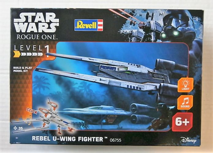 REVELL  06755 STAR WARS ROGUE ONE REBEL U-WING FIGHTER