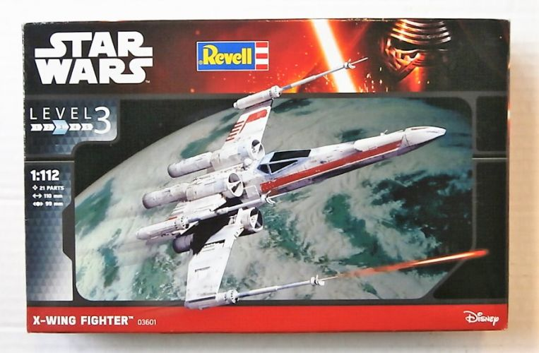 REVELL 1/112 03601 STAR WARS X-WING FIGHTER