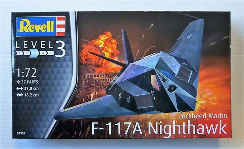 REVELL 1/72 03899 LOCKHEED MARTIN F-117A NIGHTHAWK