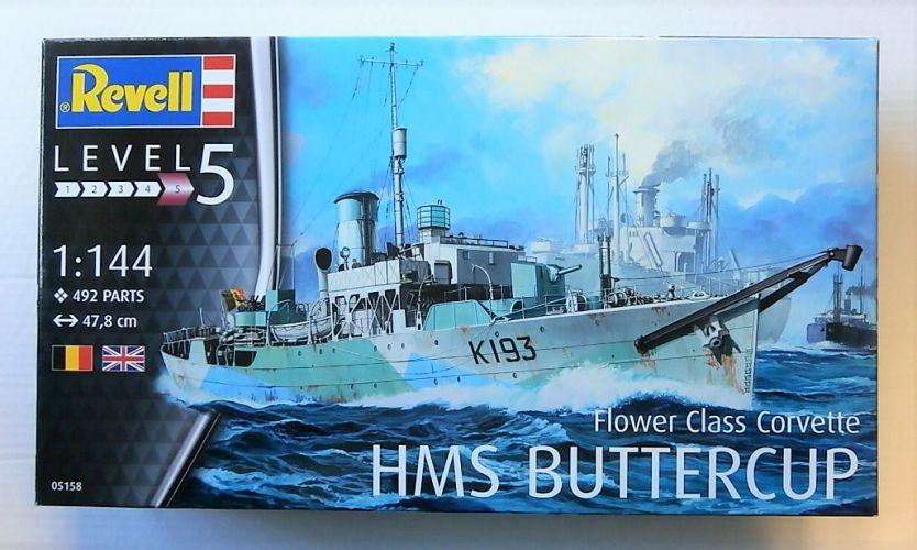 REVELL 1/144 05158 FLOWER CLASS CORVETTE HMS BUTTERCUP