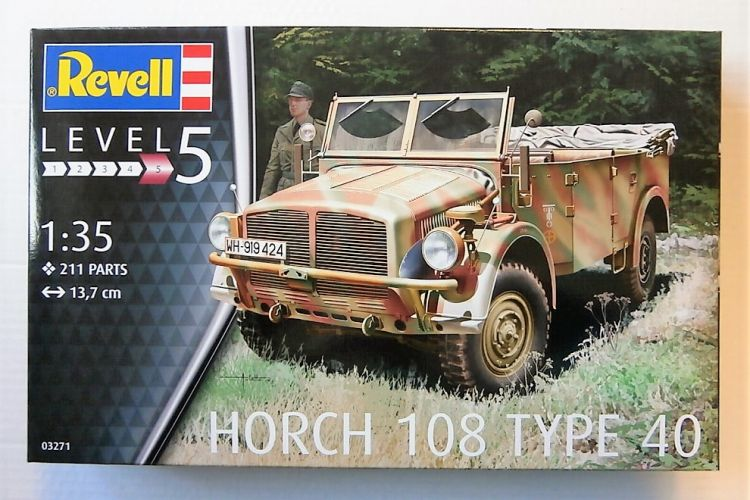 REVELL 1/35 03271 HORCH 108 TYPE 40