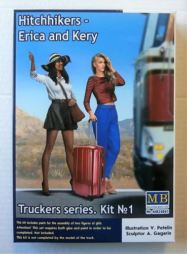 MASTERBOX 1/24 24041 TRUCKERS SERIES No1 HITCHHIKERS ERICA   KERY