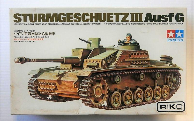 TAMIYA 1/35 MT137 STURMGESCHUTZ III Ausf G