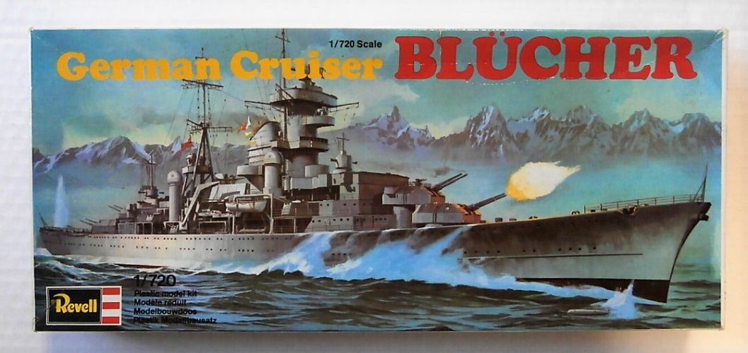 REVELL 1/720 5049 GERMAN CRUISER BLUCHER