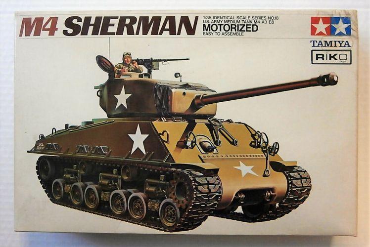 TAMIYA 1/35 MT118 M4A3E8 SHERMAN