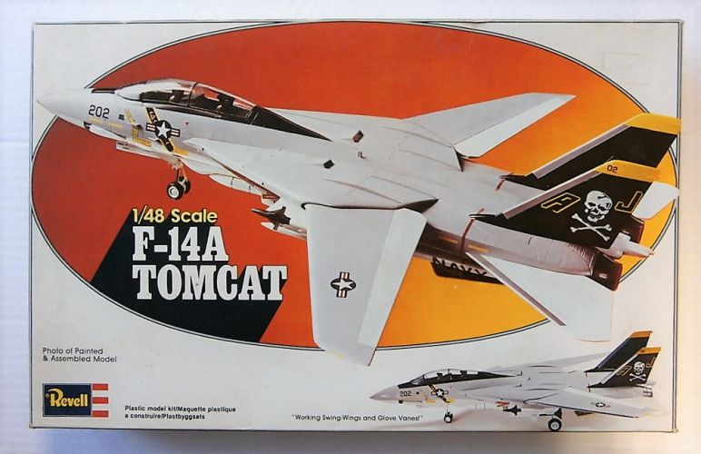 REVELL 1/48 H-291 F-14A TOMCAT