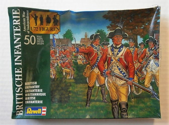 REVELL 1/72 2560 BRITISH INFANTRY  - AMERICAN WAR OF INDEPENDENCE