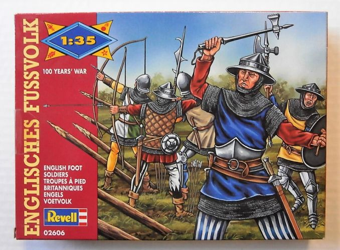 REVELL 1/35 02606 ENGLISH FOOT SOLDIERS