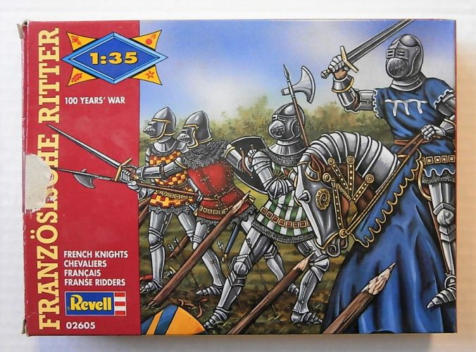 REVELL 1/35 02605 FRENCH KNIGHTS