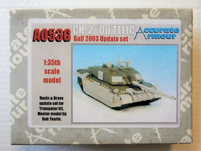ACCURATE ARMOUR 1/35 A053G CH-2 OP TELIC GULF 2003 UPDATE SET